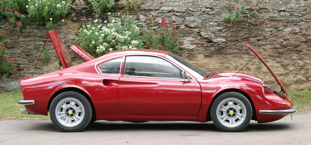 Cars For Sale   JH Classics - Ferrari Dino replica, DGT 204 and DGT 306